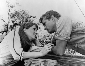 """East of Eden""Julie Harris, James Dean1955 Warner Bros.Photo by Jack Albin - Image 0024_0273"