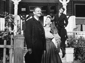 "James Dean, Julie Harris, andRaymond Massey in ""East of Eden.""1955 Warner / MPTVPhoto by Jack Albin - Image 0024_0274"
