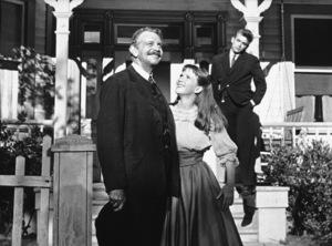 "James Dean, Julie Harris, andRaymond Massey in ""East of Eden.""1955 Warner / MPTVPhoto by Jack Albin - Image 0024_0274"