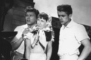 "James Dean, Julie Harris, andRichard Davalos in ""East of Eden.""1955 Warner / MPTVPhoto by Floyd McCarty - Image 0024_0276"