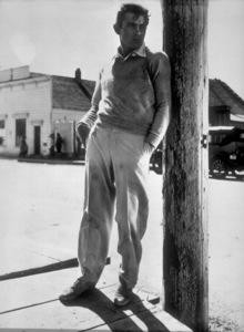 "James Dean in ""East of Eden.""1955 Warner / MPTVPhoto by Floyd McCarty - Image 0024_0312"