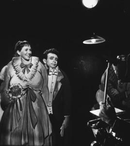 "James Dean and Julie Harrisin ""East of Eden.""1955 Warner / MPTVPhoto by Floyd McCarty - Image 0024_0328"