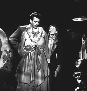 "James Dean and Julie Harrisin ""East of Eden.""1955 Warner / MPTVPhoto by Floyd McCarty - Image 0024_0329"