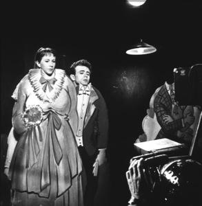 """James Dean and Julie Harris in """"East of Eden"""" 1955 Warner Photo by Floyd McCarty - Image 0024_0331"""