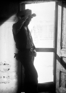 """James Dean on location for """"Giant.""""in Marfa, Texas.1955 Warner / MPTVPhoto by Floyd McCarty - Image 0024_0416"""