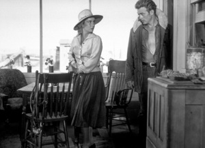 "James Dean and Elizabeth Taylorin ""Giant.""1955 Warner / MPTVPhoto by Floyd McCarty - Image 0024_0420"