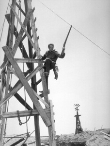 """James Dean in """"Giant.""""1955 Warner / MPTVPhoto by Floyd McCarty - Image 0024_0425"""