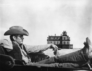 """James Dean in """"Giant"""" 1955 Warner Brothers Photo by Floyd McCarty"""