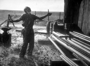 """James Dean in """"Giant.""""1955 Warner / MPTVPhoto by Floyd McCarty - Image 0024_0461"""