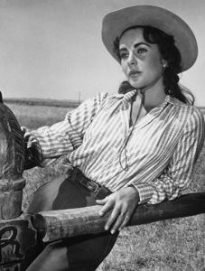 """Elizabeth Taylor in """"Giant"""" 1955 Warner Bros. - Image 0024_0469"""