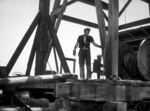 """James Dean in """"Giant.""""1955 Warner / MPTVPhoto by Floyd McCarty - Image 0024_0471"""
