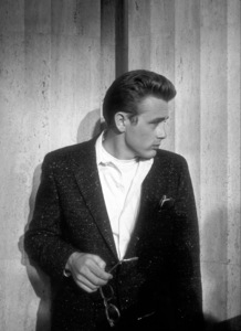 """James Dean on the set of""""Rebel Without A Cause.""""1955 Warner / MPTV - Image 0024_0481"""