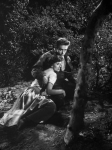 """James Dean and Natalie Wood in """"Rebel Without a Cause""""1955 Warner Brothers - Image 0024_0484"""