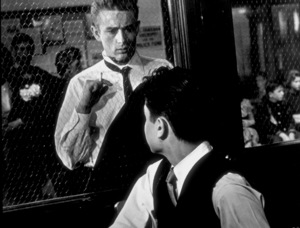 """James Dean and Sal Mineoin """"Rebel Without A Cause.""""1955 Warner / MPTV - Image 0024_0487"""