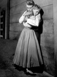 "James Dean and Julie Harrisin ""East of Eden.""1955 Warner / MPTVPhoto by Floyd McCarty - Image 0024_0494"