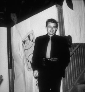 "James Dean visits ""The Sweetheart Dance""at Fairmount High School,(last visit home/ 2-15-55) - Image 0024_2075"