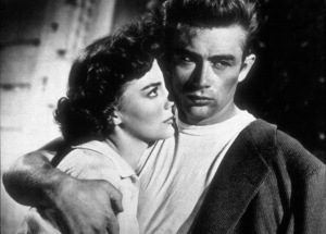 """James Dean and Natalie Wood in """"Rebel Without A Cause.""""1955 Warner / MPTV - Image 0024_2121"""