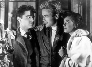"""Sal Mineo, James Dean, and Natalie Woodin """"Rebel Without A Cause.""""1955 Warner / MPTV - Image 0024_2127"""