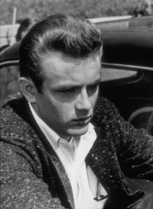 """James Dean on the set of""""Rebel Without A Cause.""""1955 Warner / MPTV - Image 0024_2136"""