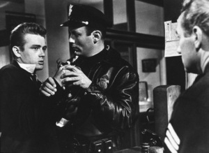 """James Dean in """"Rebel Without A Cause.""""1955 Warner / MPTV - Image 0024_2142"""