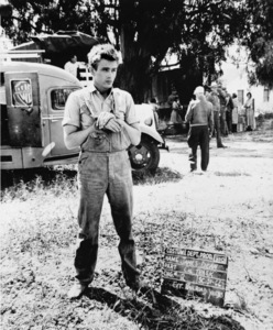 "James Dean wardrobe test on the set of ""East of Eden""1955 Warner Bros. - Image 0024_2164"