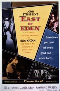 """""""East of Eden,"""" Poster. © 1955 Warner - Image 0024_2176"""