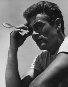 """James Dean during the making of """"Rebel Without a Cause""""1955 - Image 0024_2426"""