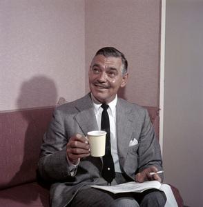 Clark Gable at Paramount Studios1957 © 1978 Sid Avery - Image 0025_0040