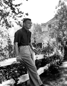 Clark Gable, 1955. © 1978 John Engstead - Image 0025_0091