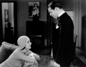 """""""A Free Soul,""""Norma Shearer and Clark Gable.1931 MGM - Image 0025_0362"""