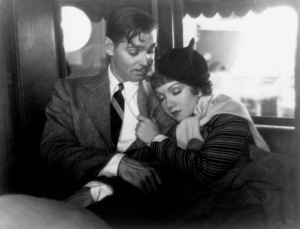 """It Happened One Night,""Clark Gable and Claudette Colbert.1934 Columbia - Image 0025_0369"