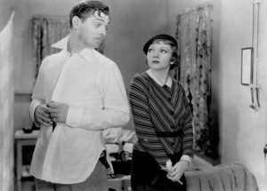 """It Happened One Night,""Clark Gable and Claudette Colbert.1934 Columbia - Image 0025_0370"