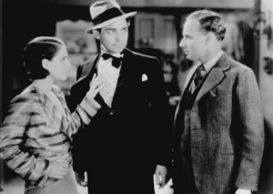"""""""Free Soul, A""""Norma Shearer, Clark Gable, and Leslie Howard.1931 MGM - Image 0025_0371"""