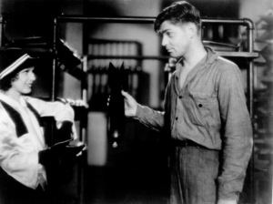 """Hell Divers,""Dorothy Jordan and Clark Gable.1932 MGM - Image 0025_0710"