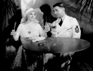 """""""Hell Divers,""""Marjorie Rambeau and Clark Gable.1932 MGM - Image 0025_0718"""