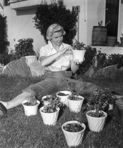 Doris Day at home 1951Photo by Floyd McCarty - Image 0025_1004