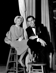 "Doris Day, Danny ThomasOn Location for ""I"