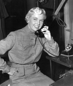 "Doris DayOn the set of ""On Moonlight Bay""1951 Warner BrothersPhoto by Graybill - Image 0025_1234"