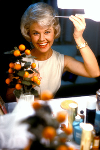 "Doris Dayin her dressing room on the set of ""Lover Come Back""1961 © 1978 Bob Willoughby - Image 0025_2174"