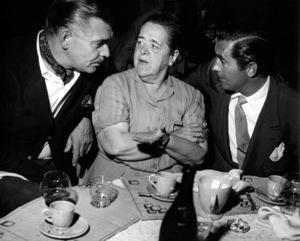 Clark Gable, Elsa Maxwell, Tyrone Power1948Copyright  John Swope  Trust / MPTV - Image 0025_2244