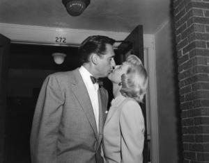 Doris Day and Martin Melcher on their wedding day04-03-1951** I.V. - Image 0025_2291