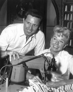 "Doris Day, John RaittOn the set of ""Pajama Game"" 1957Photo by Floyd McCarthy - Image 0025_2340"