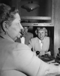 Doris Day and Martin Melcher on their wedding day04-03-1951** I.V. - Image 0025_2441