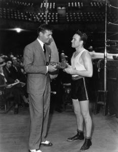 Clark Gable and Jimmy McLarnin circa 1933** I.V. - Image 0025_2458