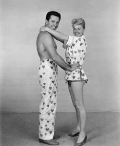 """Doris Day and John Raitt in """"The Pajama Game""""1957Photo by Bert Six - Image 0025_2486"""