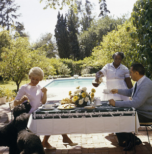 Doris Day at her Beverly Hills home with husband, Martin Melcher1961© 1978 Bob Willoughby - Image 0025_2499