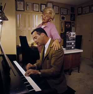 Doris Day and Jack Lemmon1961© 1978 Bob Willoughby - Image 0025_2522