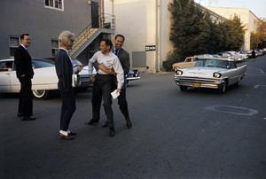 Doris Day with Martin Melcher, Tony Randall and Bob Crane1961© 1978 Bob Willoughby - Image 0025_2530