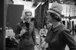 """Midnight Lace""Doris Day, Myrna Loy1960© 1978 Bob Willoughby - Image 0025_2556"