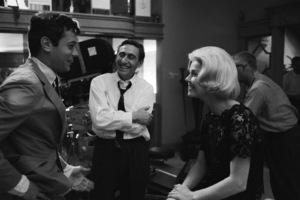 """Midnight Lace""Tony Curtis, Director David Miller, Doris Day1960© 1978 Bob Willoughby - Image 0025_2567"